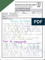 PROCESO DE ESPECIACION