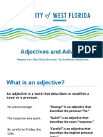 Adjectives and Adverbs for Web 7 2019