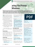 Konfigurasi Samba pada LInux dan Window