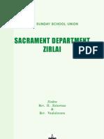 MSSU - SACRAMENT DEPARTMENT ZIRLAI