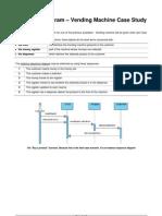 Sequence Diagram-Vending Machine Case Study