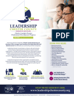 Leadership Chester County Brochure
