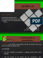 AULA 03 - GRANDEZAS E MEDICOES