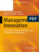 Management Innovation Antecedents, Complementarities and Performance Consequences