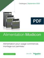 catalogue Alimentation Modicon ABLP pour usage commercial et Montage sur panneau - Français Septembre 2020