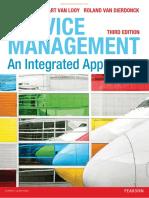 Service Management An Integrated Approach 3rd Edition Paul Gemmel Bart Van Looy Roland Van Dierdonck