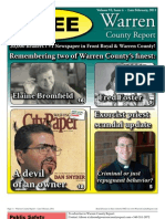 The Late February, 2011 edition of Warren County Report