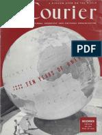1956 12 unesco. courier Ten years of UNESCO 1946-1956