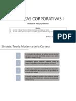 FCI - Unidad III - Riesgo y Retorno - Parte II