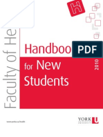 2010 Handbook for New Students