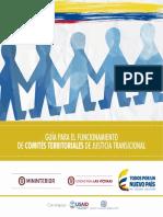 GUÍA PARA EL FUNCIONAMIENTO COMITÉS