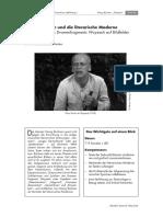 Georg Büchner und die literarische Moderne Untersuchung des Dramenfragments Woyzeck auf Bildfelder der Moderne