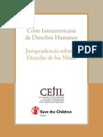 JURISPRUDENCIA SOBRE EL DERECHO DE LOS NIÑOAS (CORTE INTERAMERICANA DE DERECHOS HUMANOS).pdf