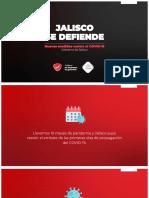 Jalisco se defiende, nuevas medidas contra el COVID-19