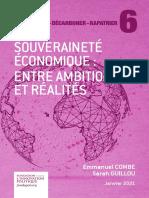 Fondapol Etude Combe Guillou Souverainte Economique Entre Ambitions Et Realites 01 2021