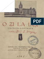 O Zi La Iasi - Calauza Ilustrata (1925)