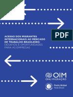 Acesso de Migrantes Ao Trabalho Brasileiro