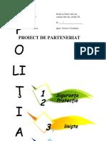parteneriat politie 2020 - 2021