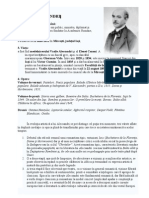 FISA BIOGRAFICA Vasile Alecsandri