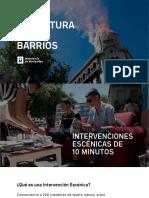 Presentacion Cultura en Los Barrios