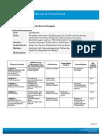 Deutsche Welle. Studiengänge und Studienordnung. Lehrerkommentar