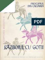 Razboiul cu Gotii - Procopius din Cezareea
