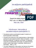 Pascaru_Cercetare_actiune participativa_2020.ppt