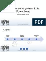 Realizarea unei prezentări in PowerPoint.ppsx