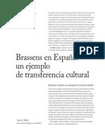Brassens en España