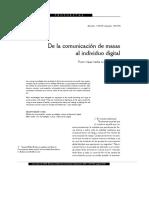 De la comunicacioÌ_n de masas al individuo digital