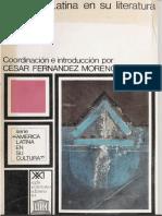 César Fernández Moreno. América Latina en Su Literatura