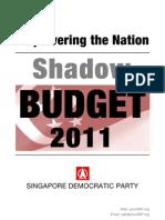 SDP's Shadow Budget 2011