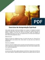 exercícios de autoproteção espiritual - prof. ney wendell