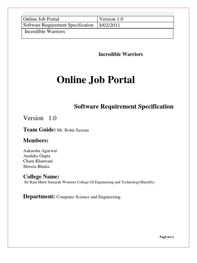 Online job portal 3 databases world wide web ccuart Gallery