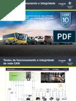Testes de Rede CAN Delivery e Volksbus ISF