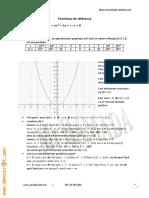 Cours Math - Chapitre 13 Fonctions de références - 2ème Sciences Mr Hamada