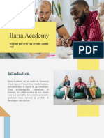 Ilaria Academy - Présentation du centre de formation