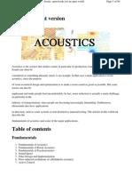 Acoustics - Wikibooks