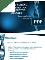 10-ADVANCE NURSING MANAGEMENT OF REPRODUCTIVE DISEASES