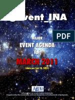@Event_INA - MARCH 2011 Agenda
