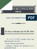TECNICAS DE LITIGACIÓN ORAL.ppt