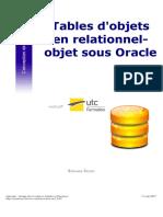 Tables d'objets en relationnel-objet sous Oracle.pdf