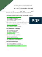 EVALUACION PARCIAL DE CULTIVOS AGROINDUSTRIALES- DE LA TORRE