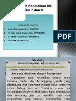 Modul 7 Dan 8 Perspektif Pendidikan Sd (1)