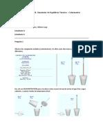 Laboratorio 01 - Simulador de Equilibrio Termico - Calorimetria
