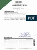 DISPOSICIÓN N° 1-2019-FSEDCF-DFLN _ 29 MAYO 2019 _ REQUERIMIENTO DE ELEVACIÓN DE ACTUADOS N° 162-2018. Lector