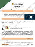 Ledor - Módulo 4 - transcrição