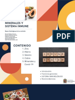 Presentación Minerales - Sistema inmune