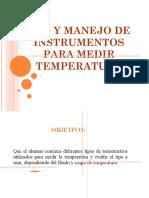 Word Uso y Manejo de Temperatura