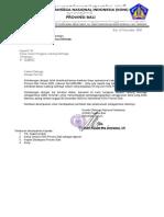 Surat Ke Pengprov Terkait Pertanggungjawaban